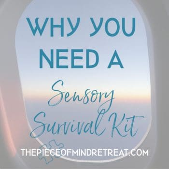 why you need a sensory survival kit