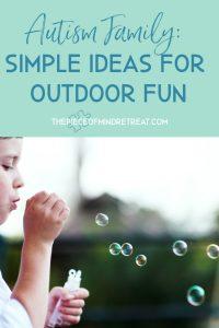 simple ideas for outdoor fun