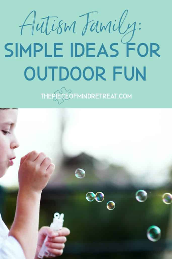 simple ideas for outdoor fun