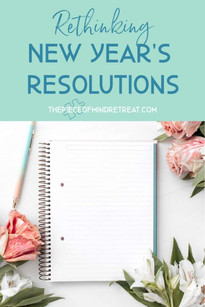 Rethinking new years resolutions